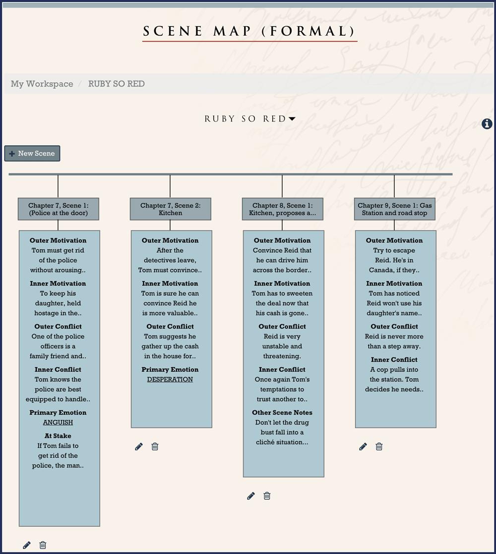 Scene Map (Formal)