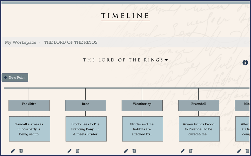 Example Timeline